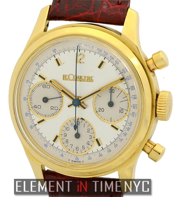 Master Chronograph 18k Yellow Gold 35mm