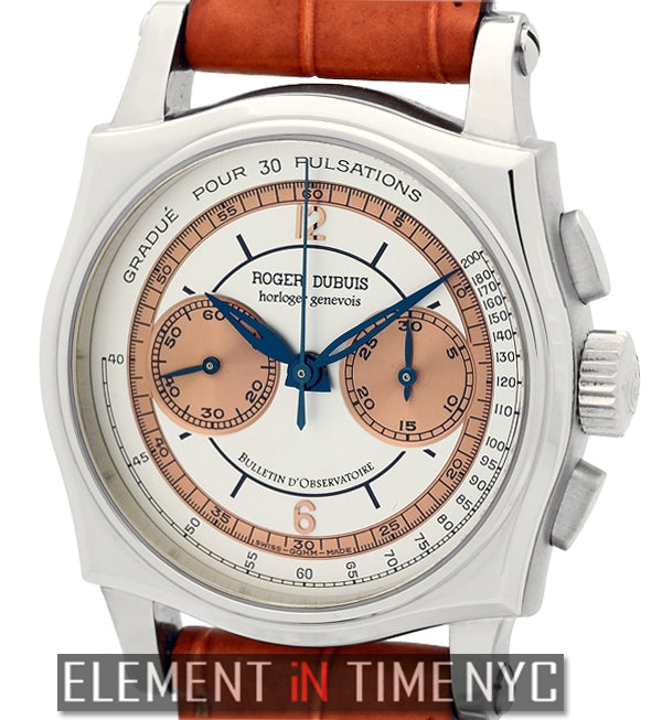 Chronograph 18k White Gold