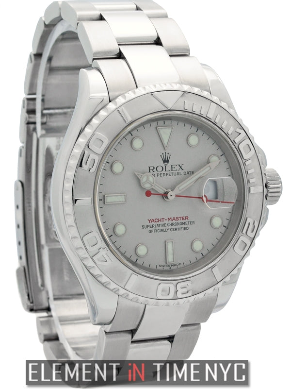 Stainless Steel Platinum Bezel 40mm