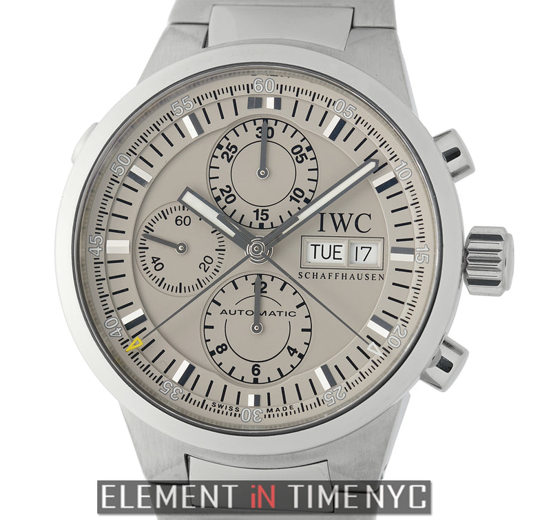 GST Split Second Chronograph Steel 43mm Rhodium Dial