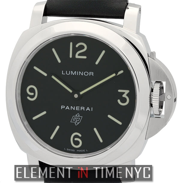 Luminor Base Logo 44mm Stainless Steel