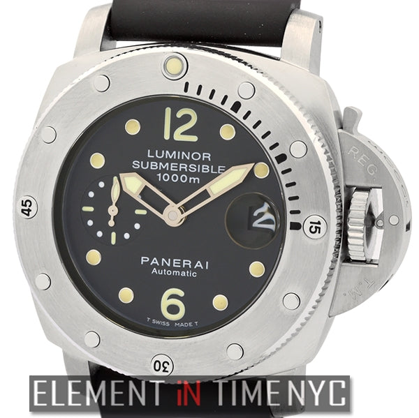 Luminor Submersible 1950 1000M Stainless Steel 44mm