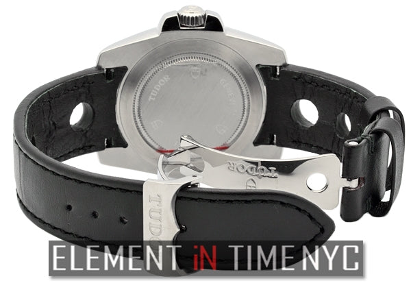 Stainless Steel Black Dial 41mm