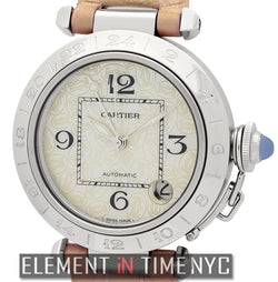 Pasha C Stainless Steel 35mm MOP Dial