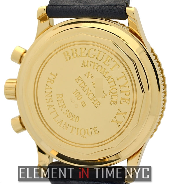 Type XX Transatlantique 18k Yellow Gold 40mm