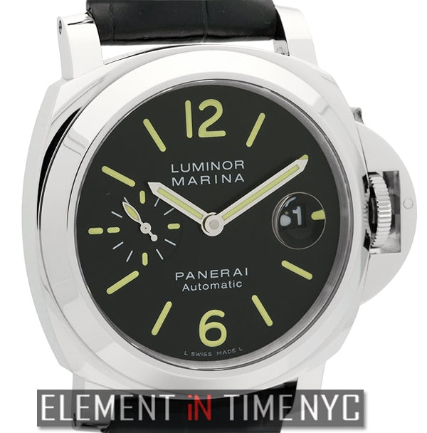 Luminor Marina 44mm Stainless Steel Black Dial