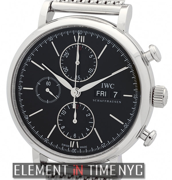Portofino Chronograph 42mm Stainless Steel