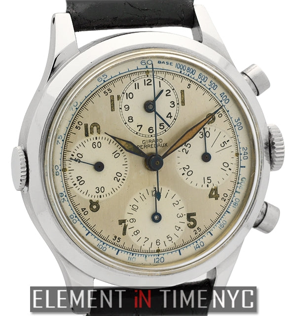 Vintage Chronograph Circa 1940's 38mm Pilot's Watch