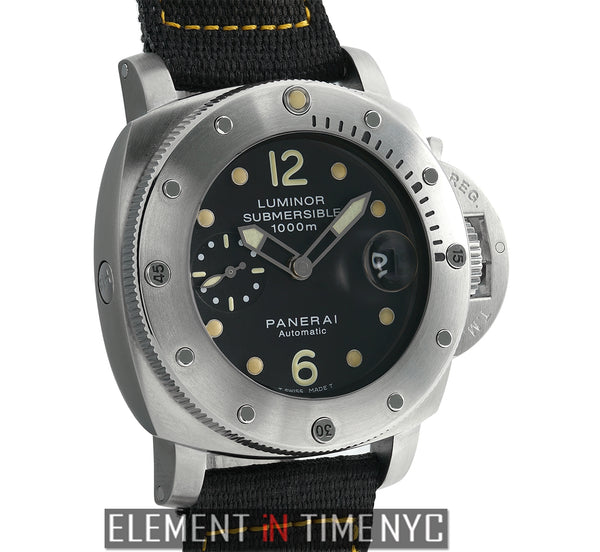 Luminor Submersible 1950 1000M 44mm J Series Circa 2007