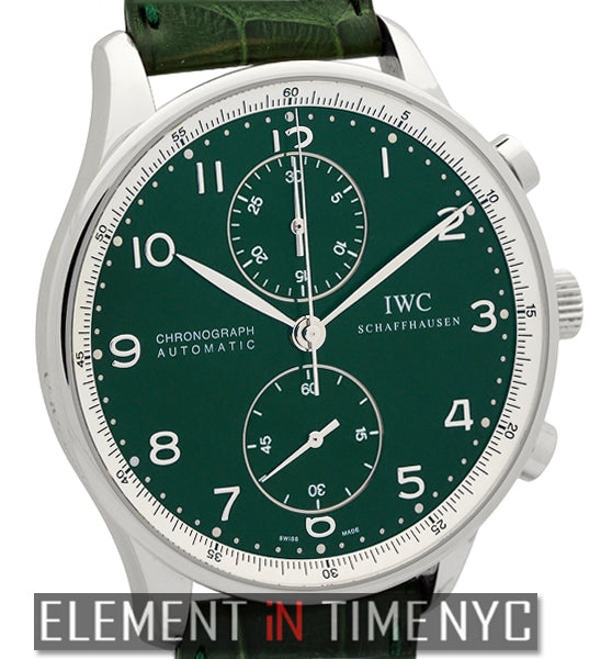 Chronograph Boris Becker Limited Edition Green Dial