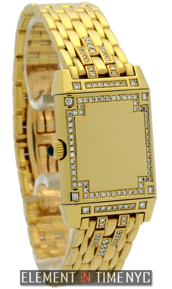 Florale 21mm 18k Yellow Gold With Diamonds