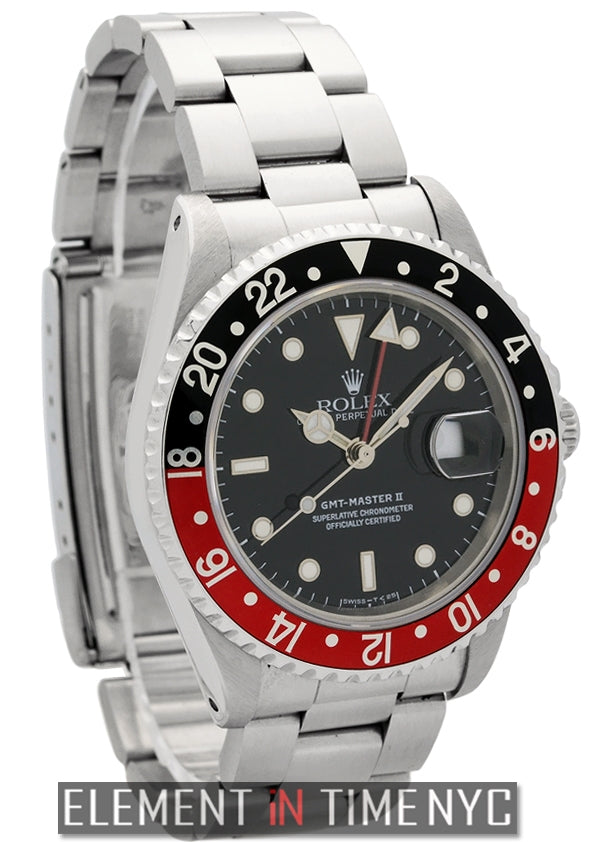 Stainless Steel Red/Black 'Coke' Bezel Circa 1991