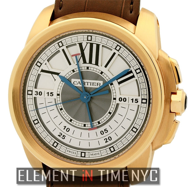 Calibre Chronograph 18k Rose Gold 45mm