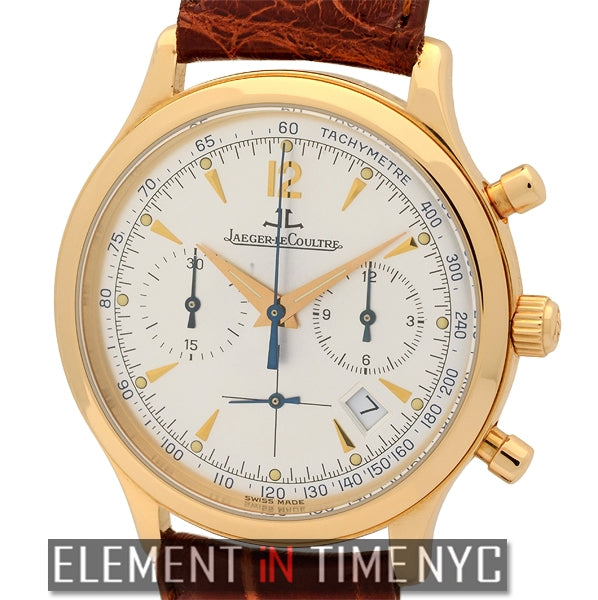 Master Chronograph 18k Rose Gold