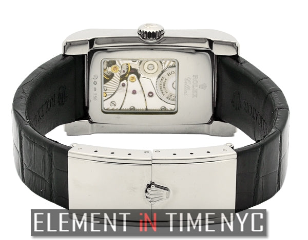 Prince 18k White Gold 28mm Manual Wind