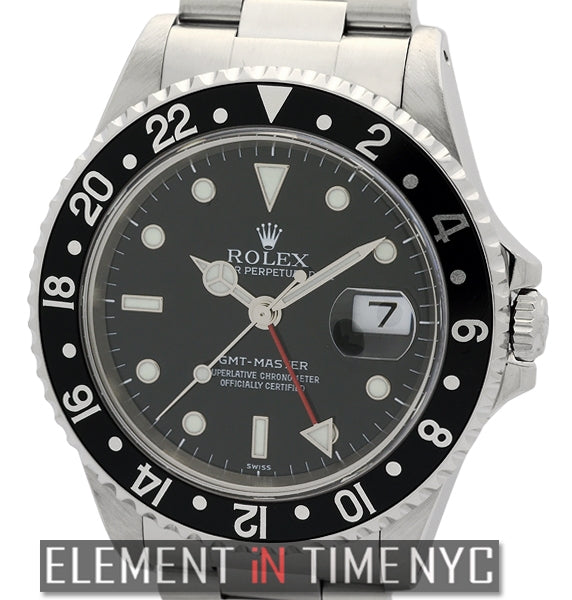 Stainless Steel Black Dial A Series