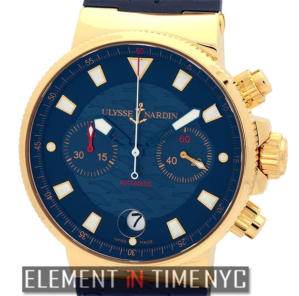 Blue Seal Chronograph 18k Rose Gold Limited Edition