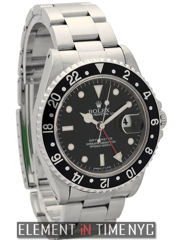Stainless Steel Black Dial T Series