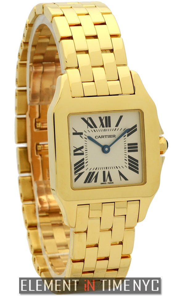 Santos Demoiselle Large 26mm 18k Yellow Gold