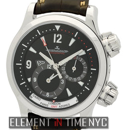 Geographic Stainless Steel 42mm
