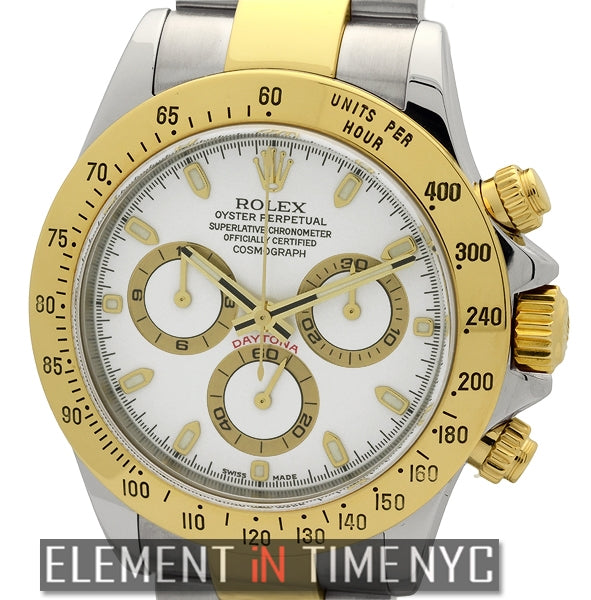 Steel & Gold White Dial P Series