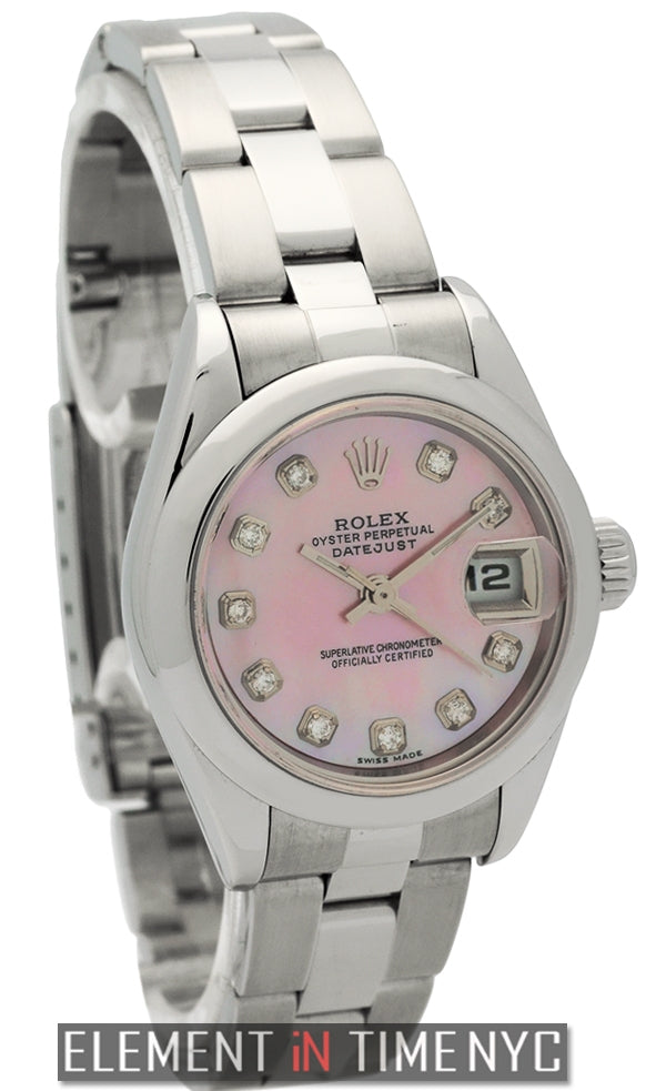 Stainless Steel 26mm MOP Diamond Dial P Series