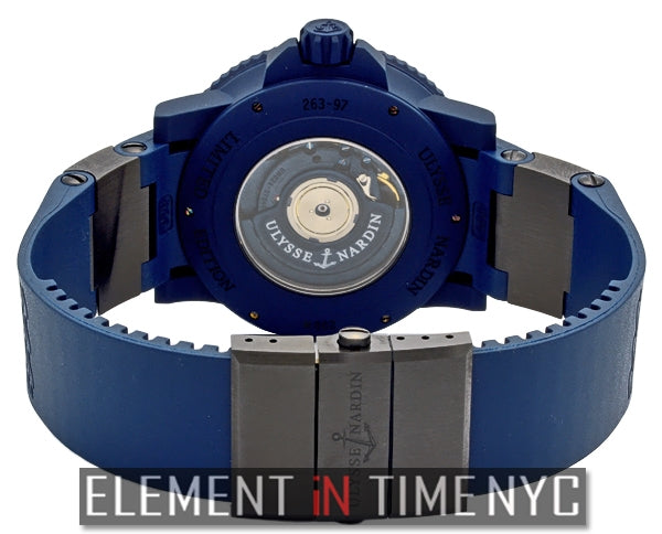 Blue Sea Limited Edition 999 Pieces 46mm