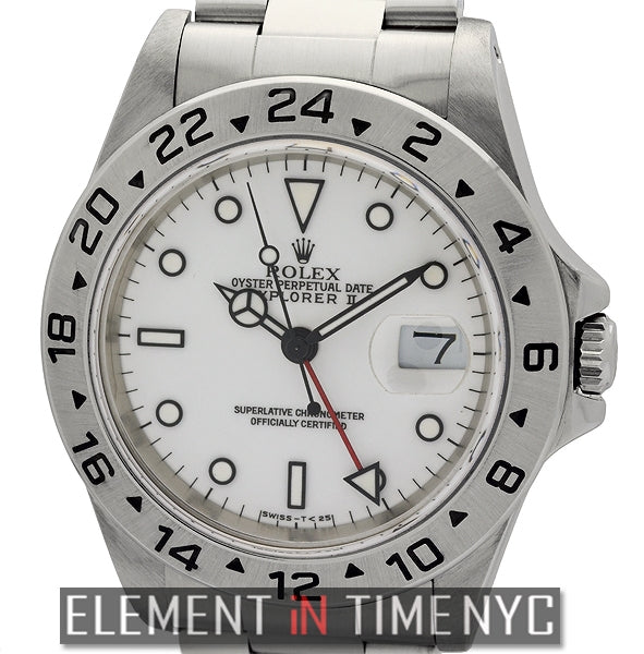 Stainless Steel White Dial 40mm U Series