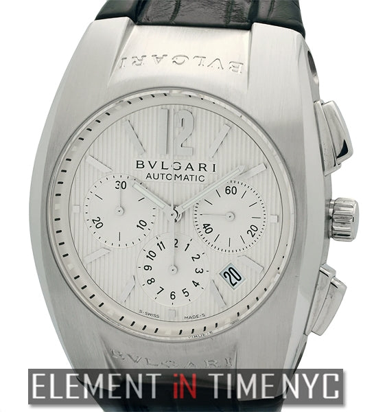 Chronograph Stainless Steel 40mm Silver Dial