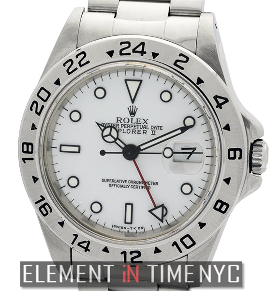 Stainless Steel White Dial 40mm N Series