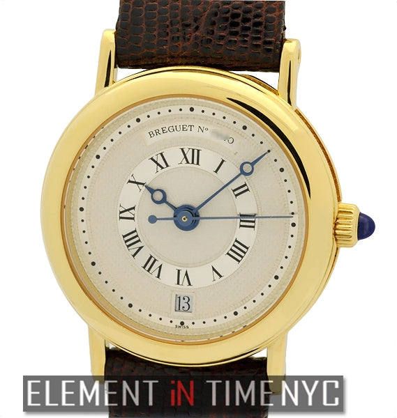Ladies 26mm 18k Yellow Gold Automatic