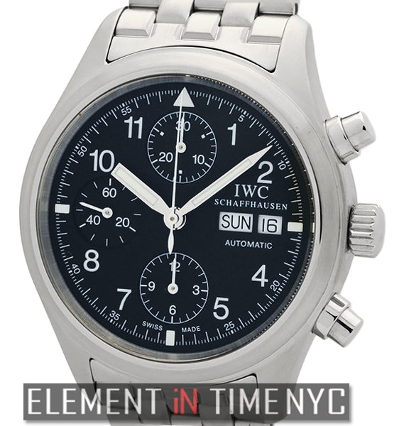 Pilot Chronograph Stainless Steel On Bracelet