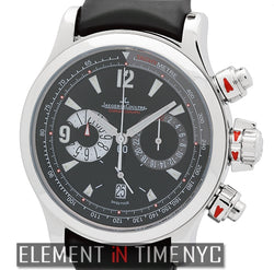 Chronograph Stainless Steel Black Dial