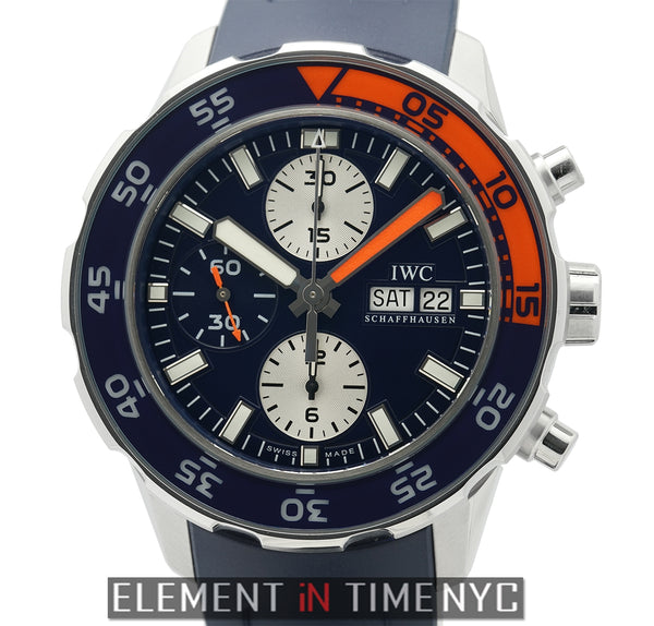 Aquatimer Chronograph Steel 44mm Blue Dial