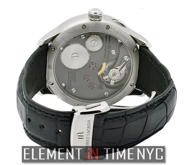 Double Retrograde 46mm Black Dial