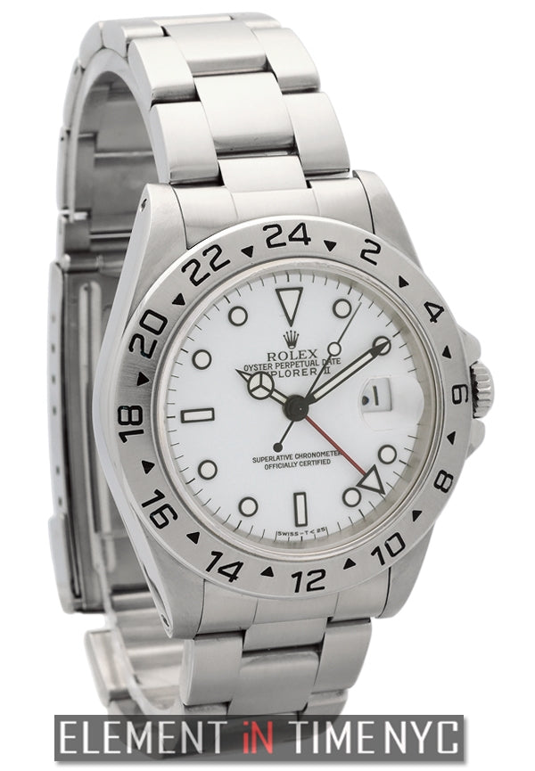 Stainless Steel White Dial 40mm X Series