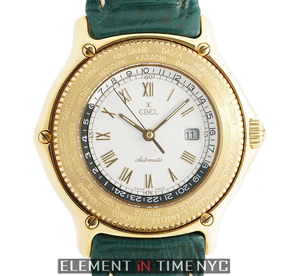 World Time GMT 18k Yellow Gold 38mm