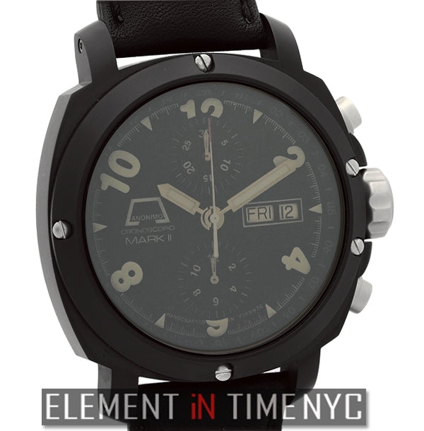 Mark II Nero Day-Date Chronograph PVD