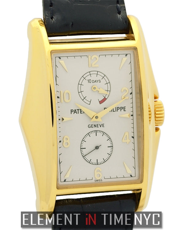 10-Days Power Reserve 18k Yellow Gold