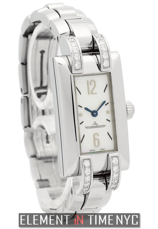 Stainless Steel With Diamonds MOP Dial