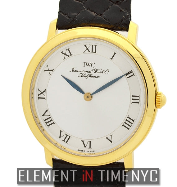 Portofino 34mm 18k Yellow Gold Manual Wind