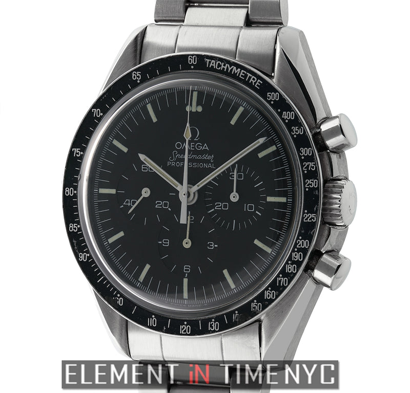 Professional Moonwatch Stainless Steel T Swiss Dial Circa 1984