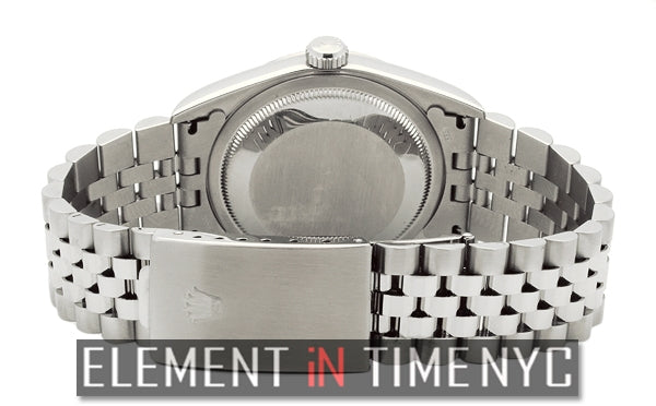 Stainless Steel White Roman Dial F Serial