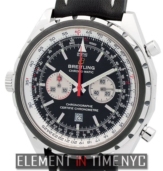 Chrono-Matic Stainless Steel 44mm Grey Bezel