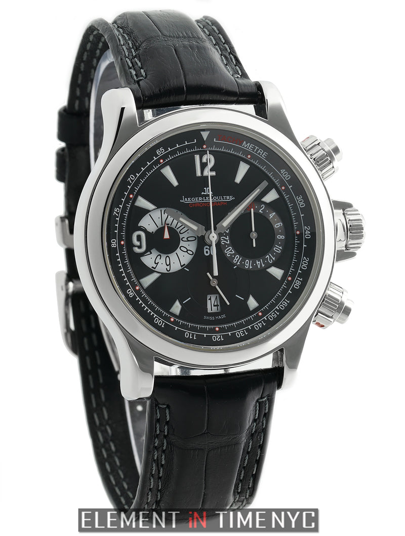 Chronograph Stainless Steel 42mm Black Dial