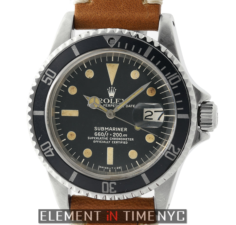 Vintage Patina Dial Circa 1978 (Rolex Bracelet Included)