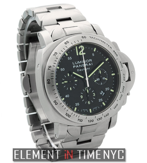Luminor Daylight Chronograph 44mm Stainless Steel J Series