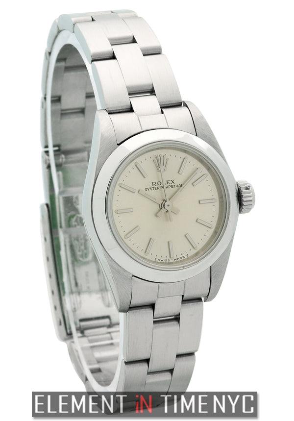 No-Date Stainless Steel Ladies T Serial