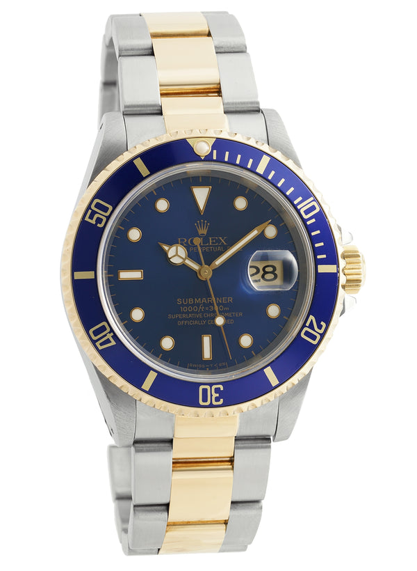 Steel & Gold Blue Dial T Serial Circa 1996