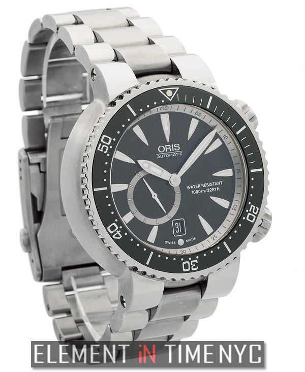 Titan 'C' Small Second Date Titanium 47mm